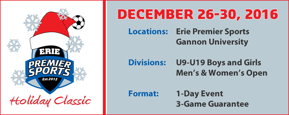 Erie Premier Sports Holiday Classic 2016