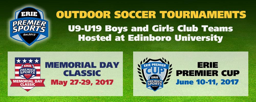 Erie Premier Sports | Outdoor Soccer Tournaments