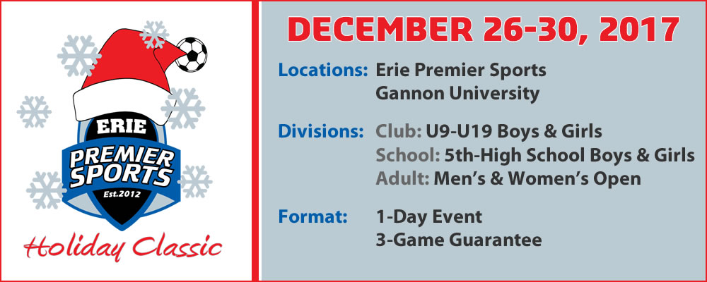 Erie Premier Sports | Holiday Indoor Classic