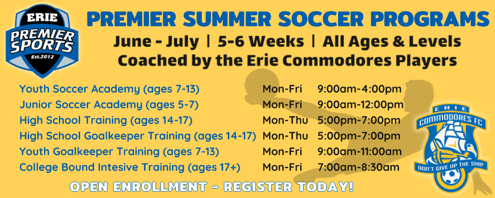 Erie Premier Sports | Premier Summer Soccer Programs
