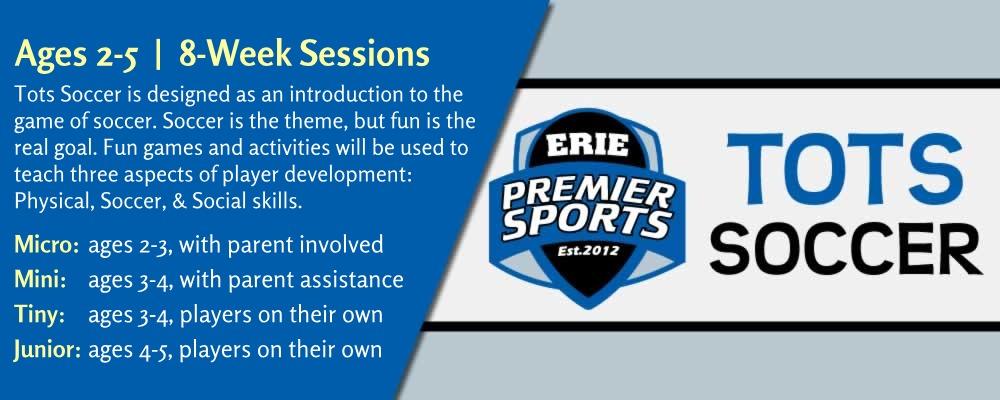 Erie Premier Sports | Tots Soccer