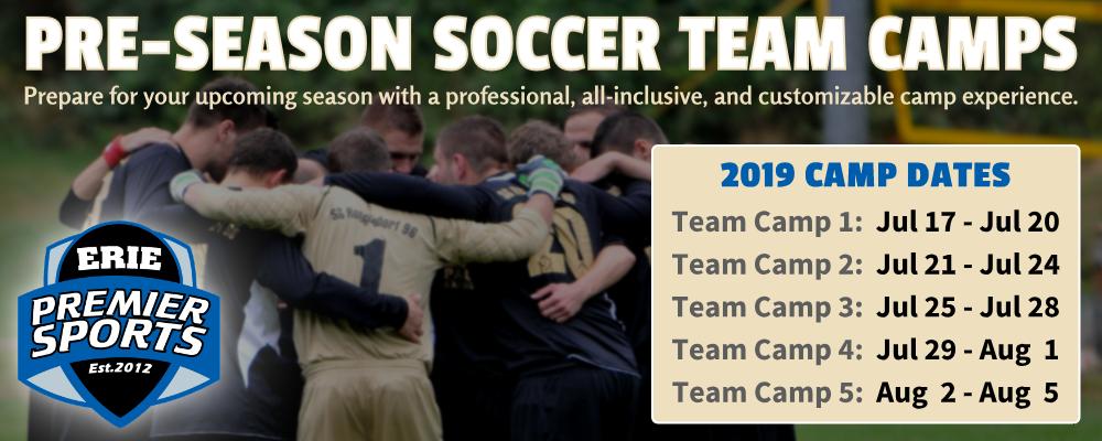 Erie Premier Sports | Soccer Team Camps