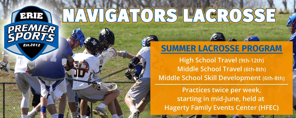 Erie Premier Sports Lacrosse   Navigators Summer Program