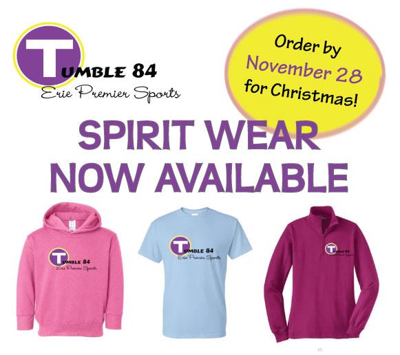 Tumble 84 Spirit Wear | Erie Premier Sports