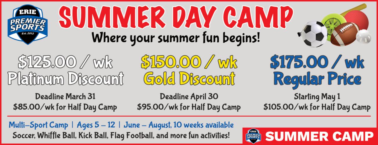 Erie Premier Sports | Summer Day Camp